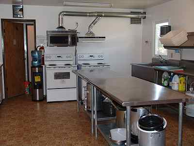 Bearberry Community Hall Kitchen interior